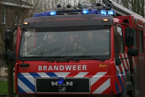 Uitslaande brand in bungalow Renessebroch Hendrik Ido Ambacht