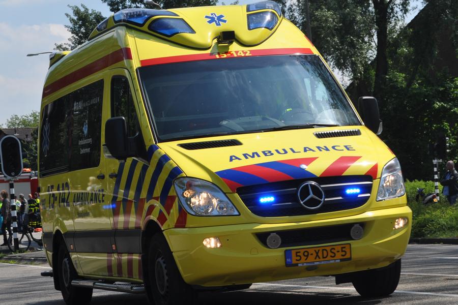 Bromfietser (54) overleden na ongeval