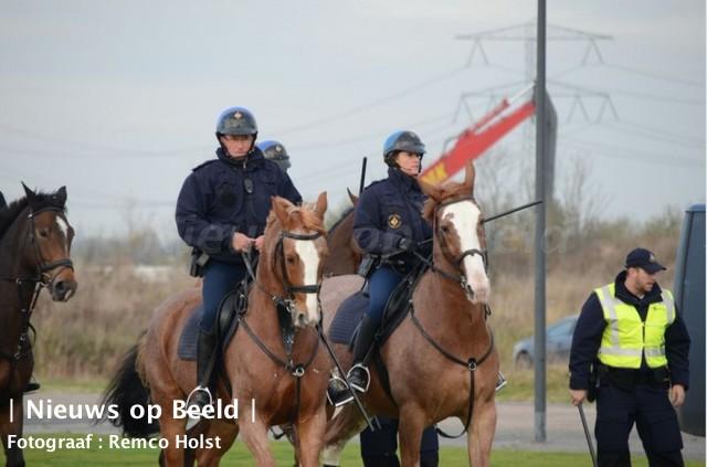 Politieoefening in Rotterdam Nesselande