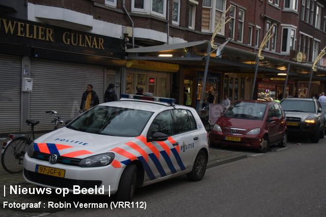 Juwelier overvallen Bijerlandselaan Rotterdam