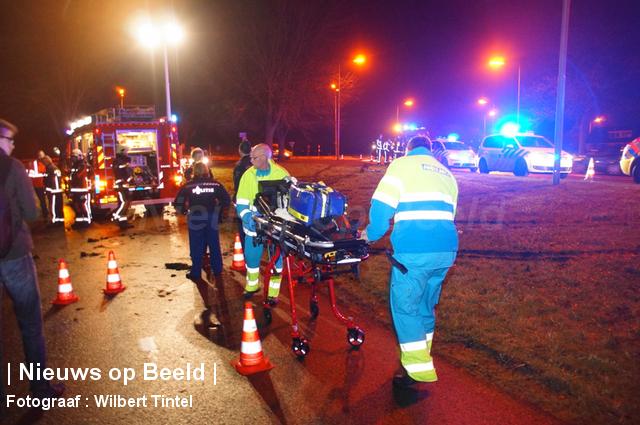 Bestuurder verlaat plaats ongeval N209 Benthuizen
