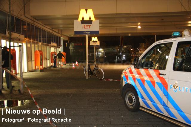 Schietpartij metrostation Slinge