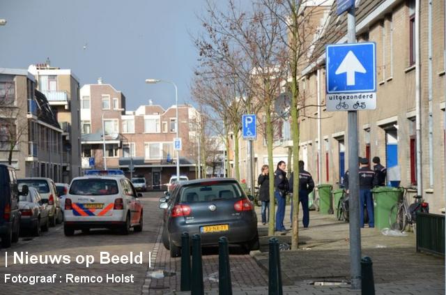 Den Haag Pieter Lastmanstraat Schietpartij
