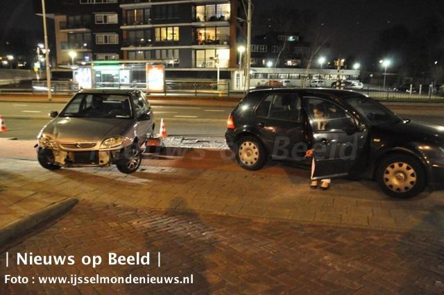 Groene Tuin Rotterdam : Ongeval met veel schade groene tuin rotterdam u nieuws op beeld
