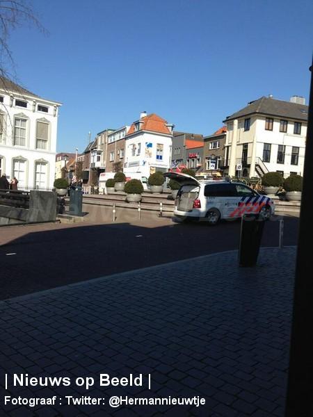 Overval op Schoenenreus Kerkstraat Oud-Beijerland