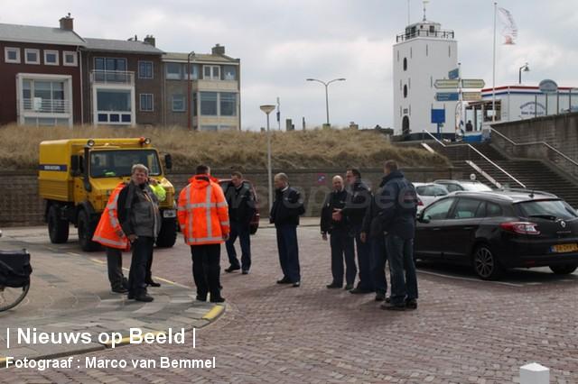 Stoffelijk overschot aangetroffen langs Boulevard Katwijk