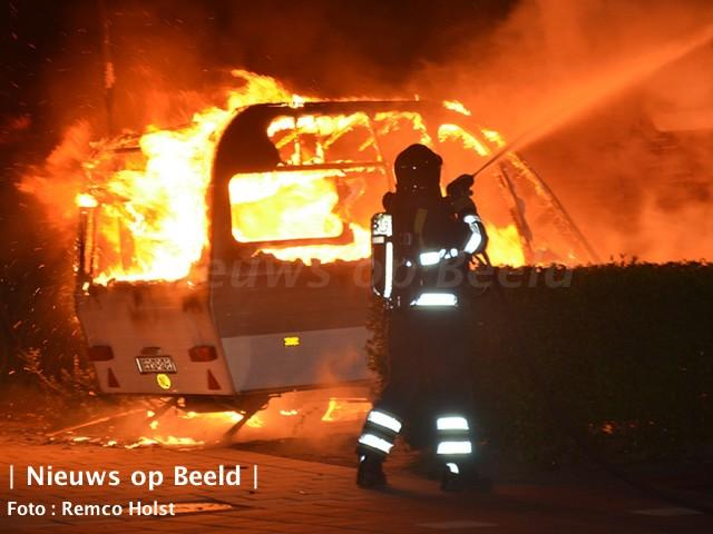 Verdachte voor brandstichtingen Spijkenisse heengezonden