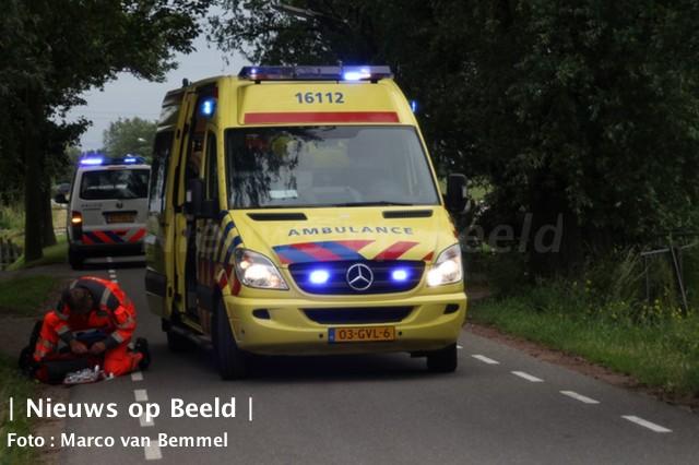 Boer gewond na aanval door stier Tiendweg-West Krimpen a/d Lek