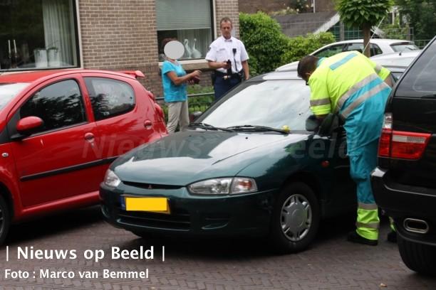 Ongeval tussen auto en fietser Stationsstraat Schoonhoven