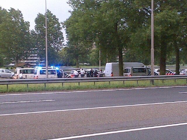 Wilde achtervolging door Rotterdam-Zuid eindigt op A16