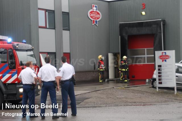 Brand bij bakkerij Casteleijn Transportweg Bergambacht