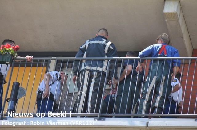 Dreumes sluit moeder buiten woning Gorgiashof Rotterdam