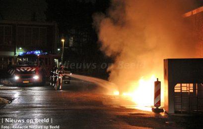 Personenauto in brand op de Havikshorst Leiden, politie zoekt getuigen
