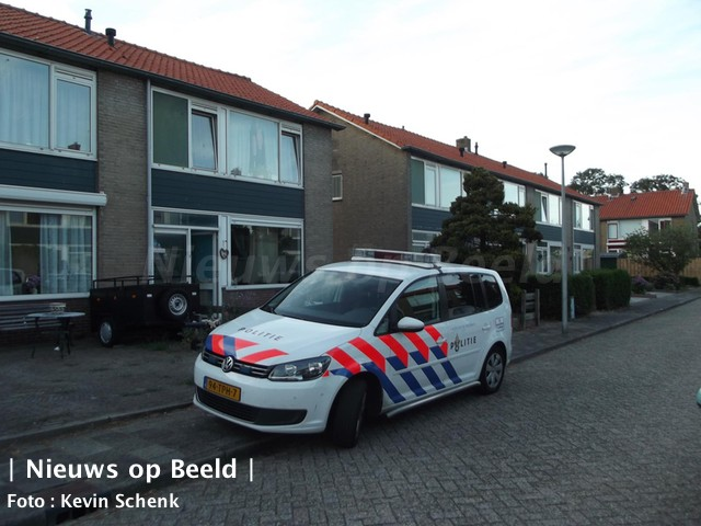 Man gewond na steekincident Gijzenhoekweg Oostvoorne