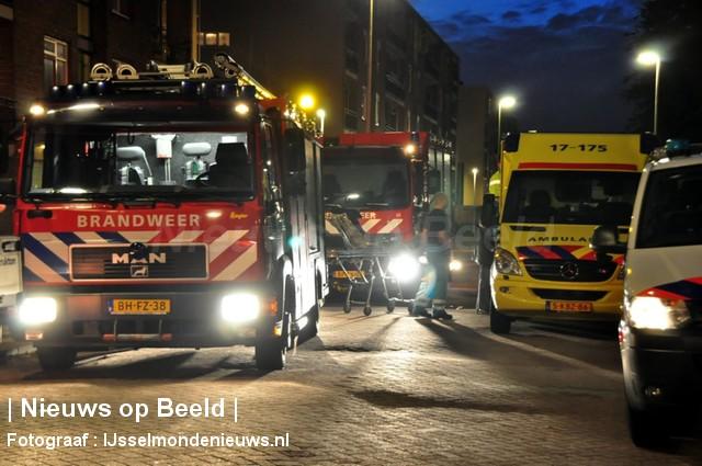 20-10-13-Petrarcastraat-Rotterdam-Gebouwbrand2