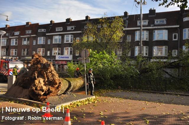 28-10-13-Beijerlandselaan-Rotterdam-Stormschade1