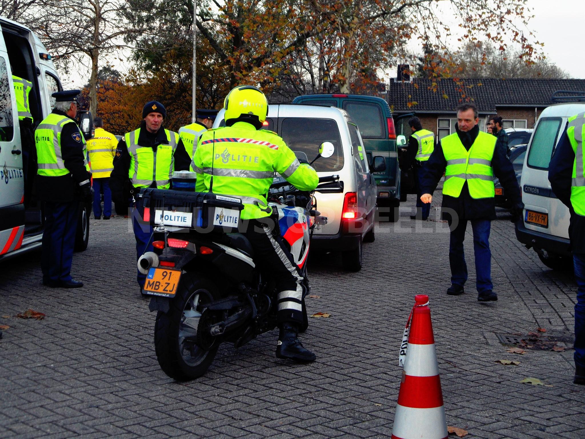 17 bekeuringen bij verkeerscontrole op bestelauto's in Leeuwarden