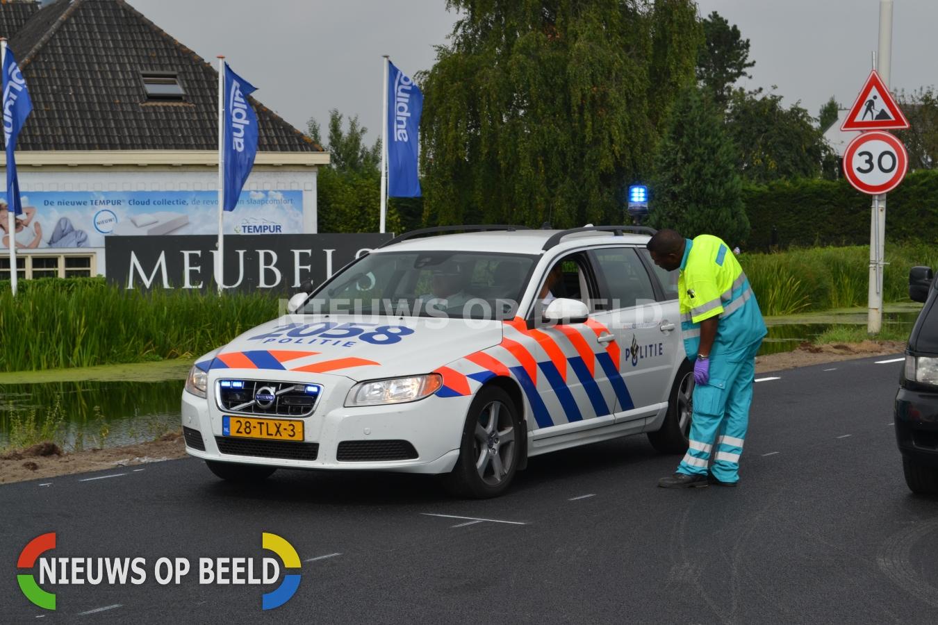 Persoon geëlektrocuteerd tijdens werkzaamheden Rontgenweg Spijkenisse