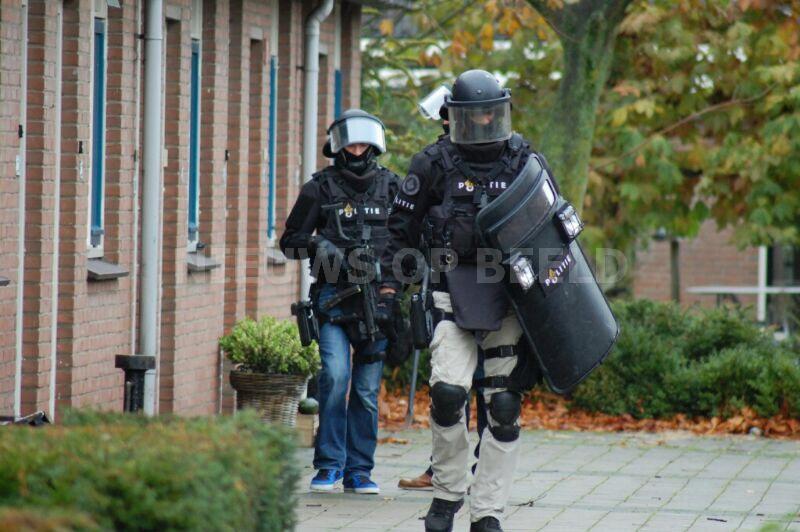 Arrestatieteam ingezet na ruzie Kerckhoek Zuidland