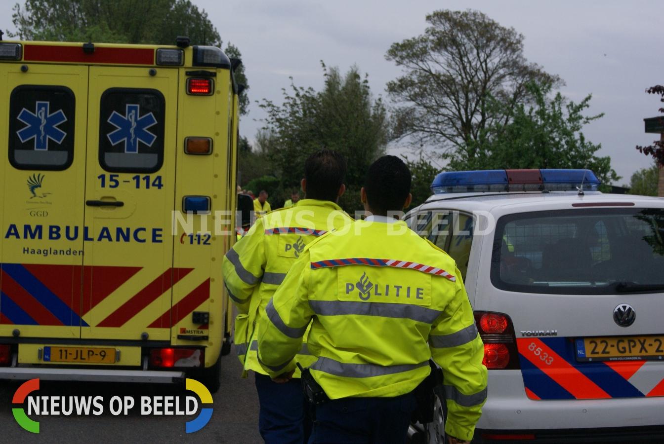 Drie agenten gewond door zeer agressieve man