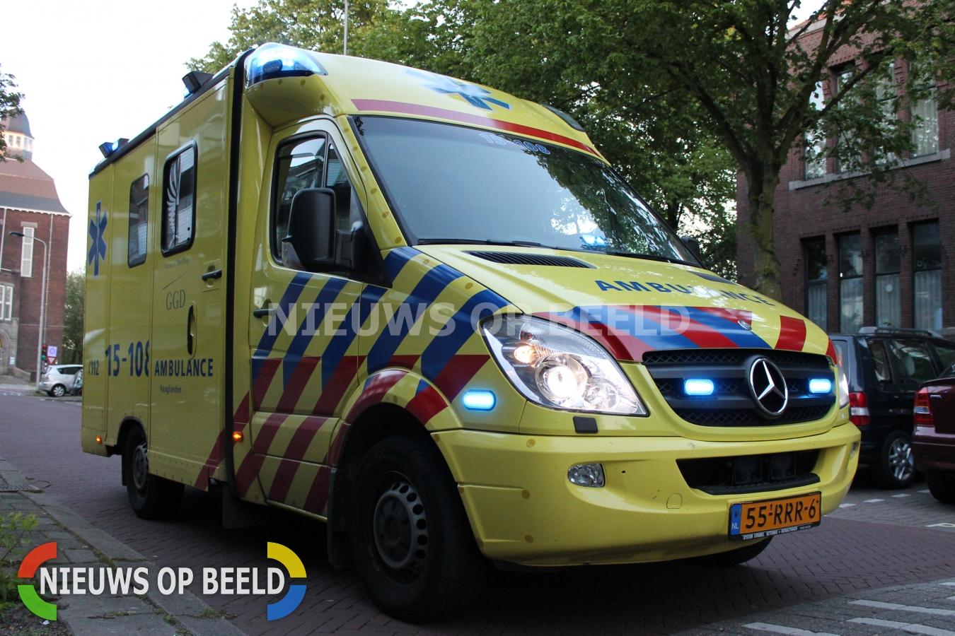 Man gewond na steekpartij Wijdstraat Gouda