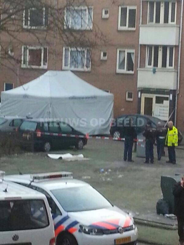 Man door nog onbekende schutter om het leven gebracht Den Helderstaat Amsterdam