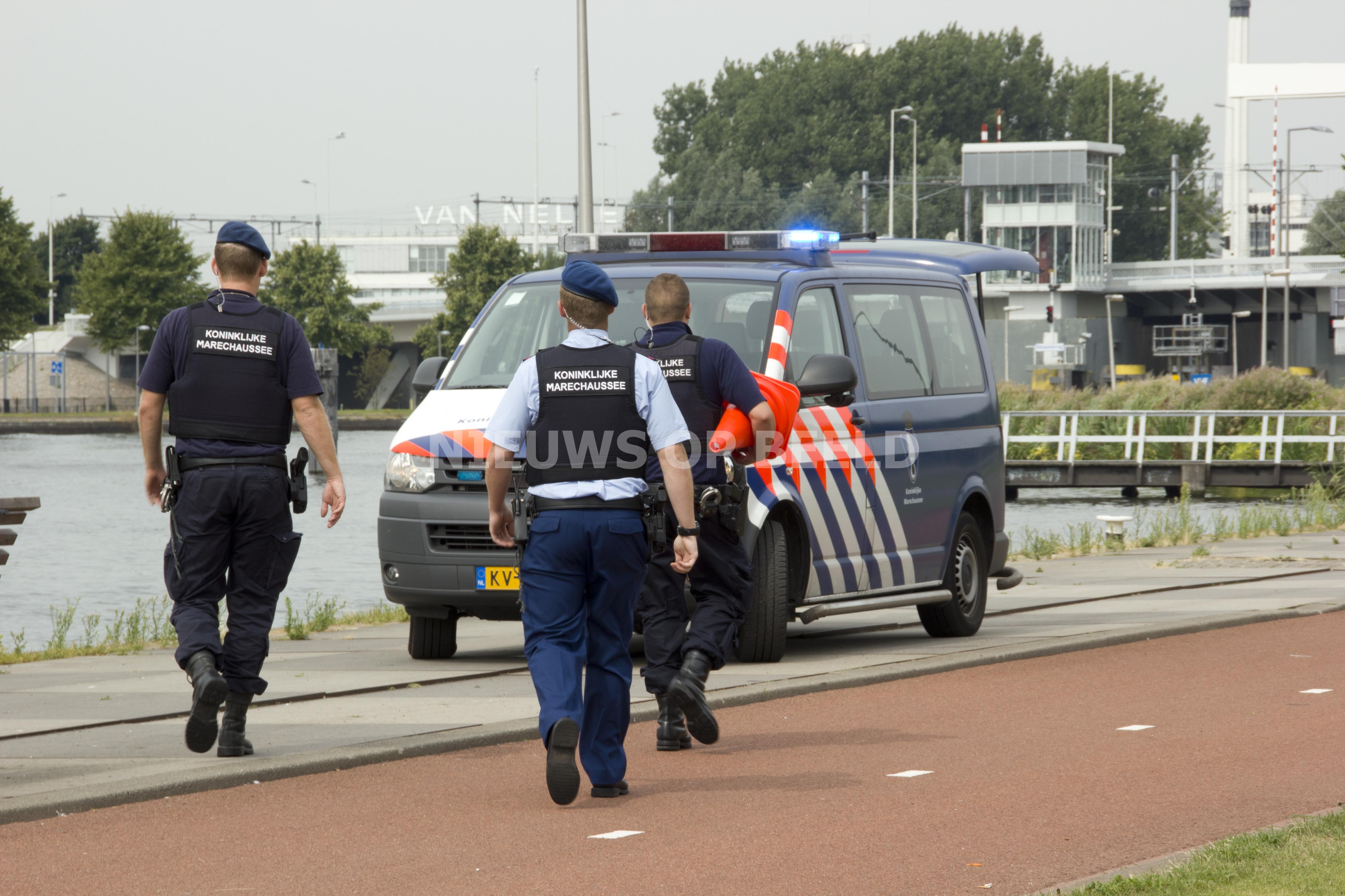 Benzinedief gepakt op A13 bij Rotterdam