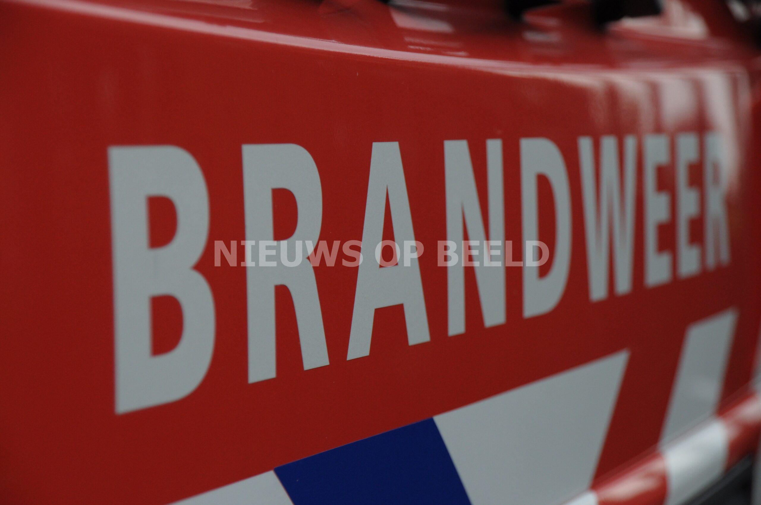 Klein brandje in brandweerkazerne Groene Tuin Rotterdam
