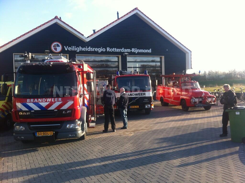 Nieuwe brandweerkazerne geopend in Goedereede