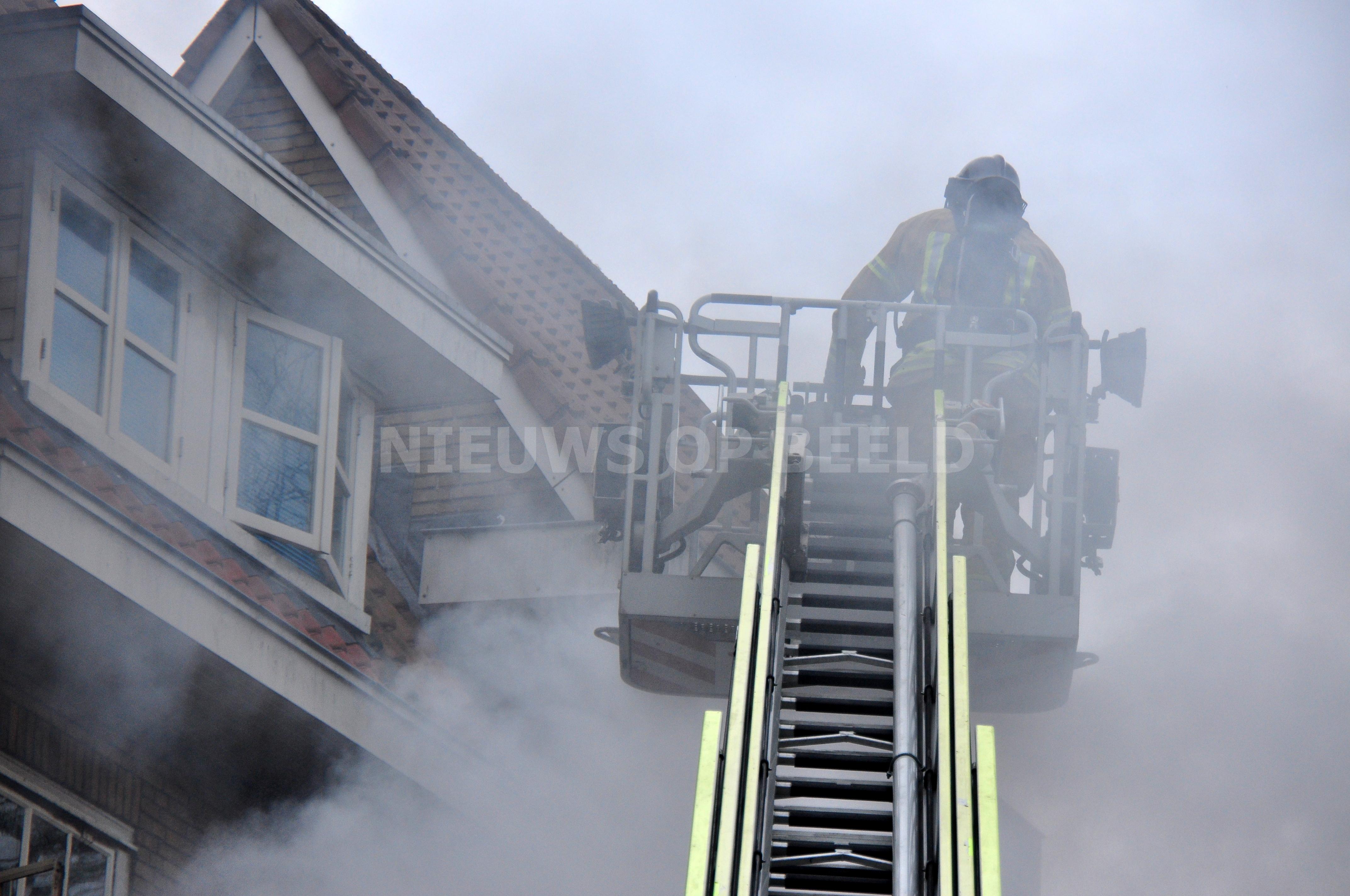 Fikse brand bij jongerencentrum Putselaan Rotterdam