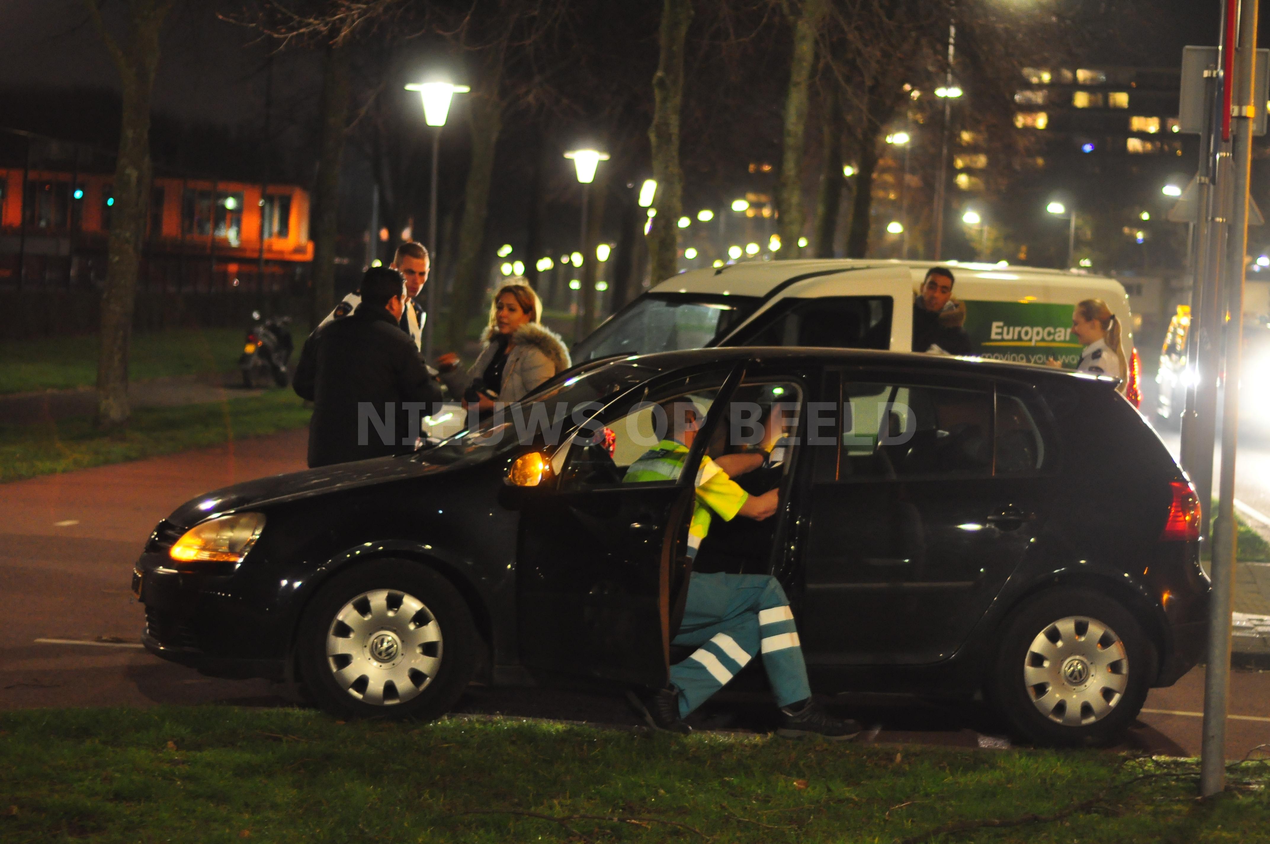 Zwangere vrouw gewond na aanrijding Oldegaarde Rotterdam