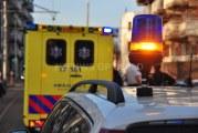 Flinke ravage na aanrijding tussen tram en vrachtwagen aan de Rotterdamsedijk in Schiedam