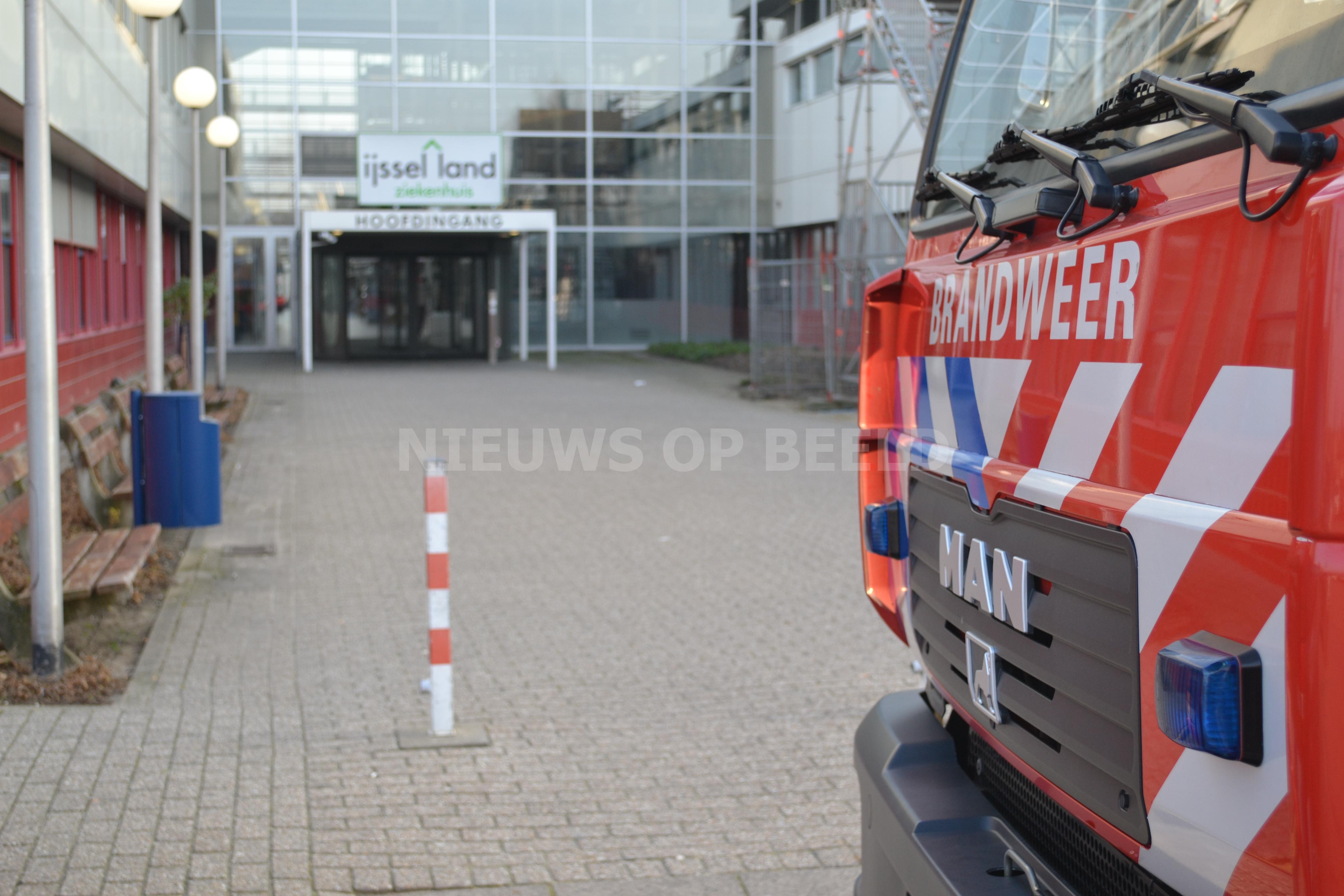 Operatiekamers dicht door groot waterlekkage IJsselland ziekenhuis Capelle aan den IJssel