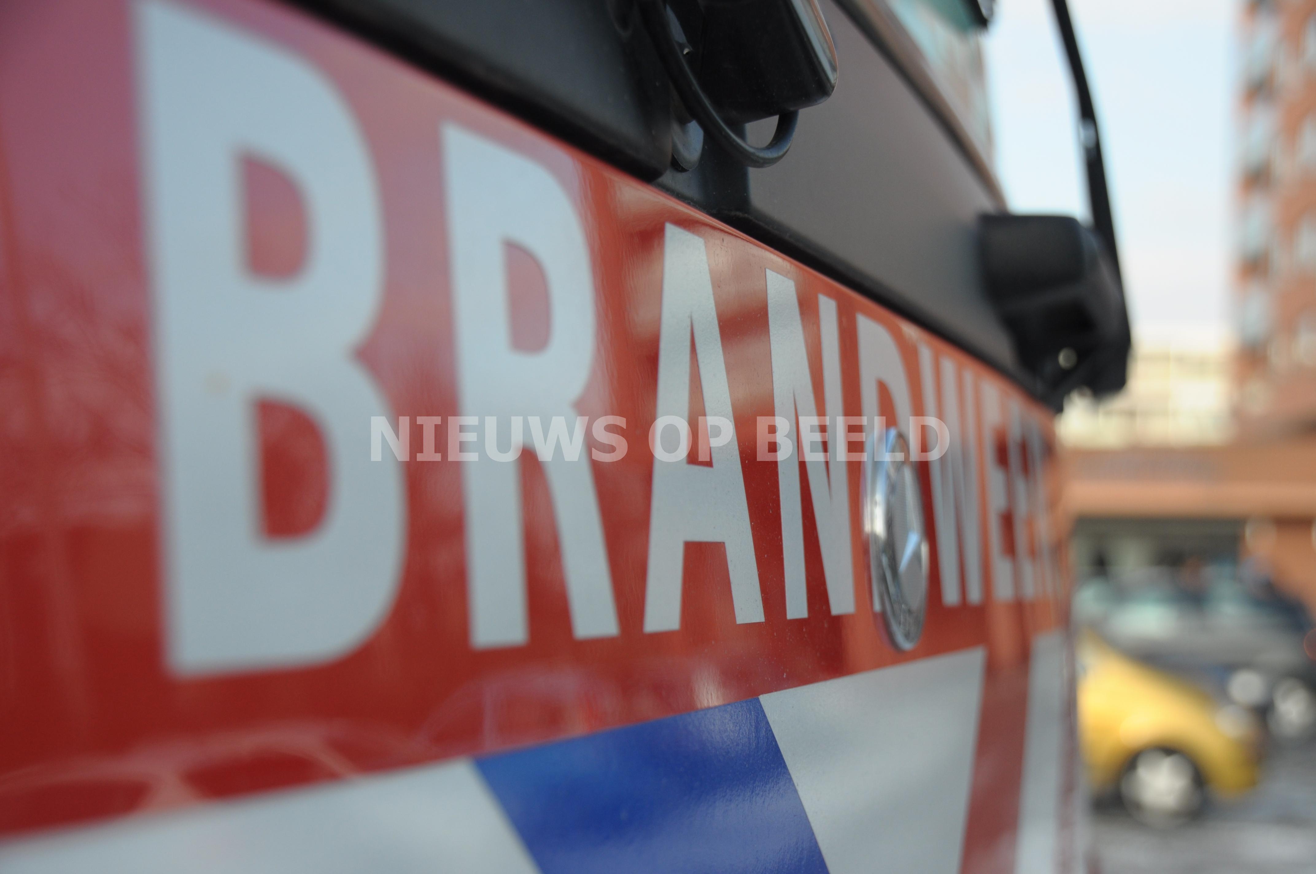 Uitslaande brand in autobedrijf Calandstraat Sliedrecht