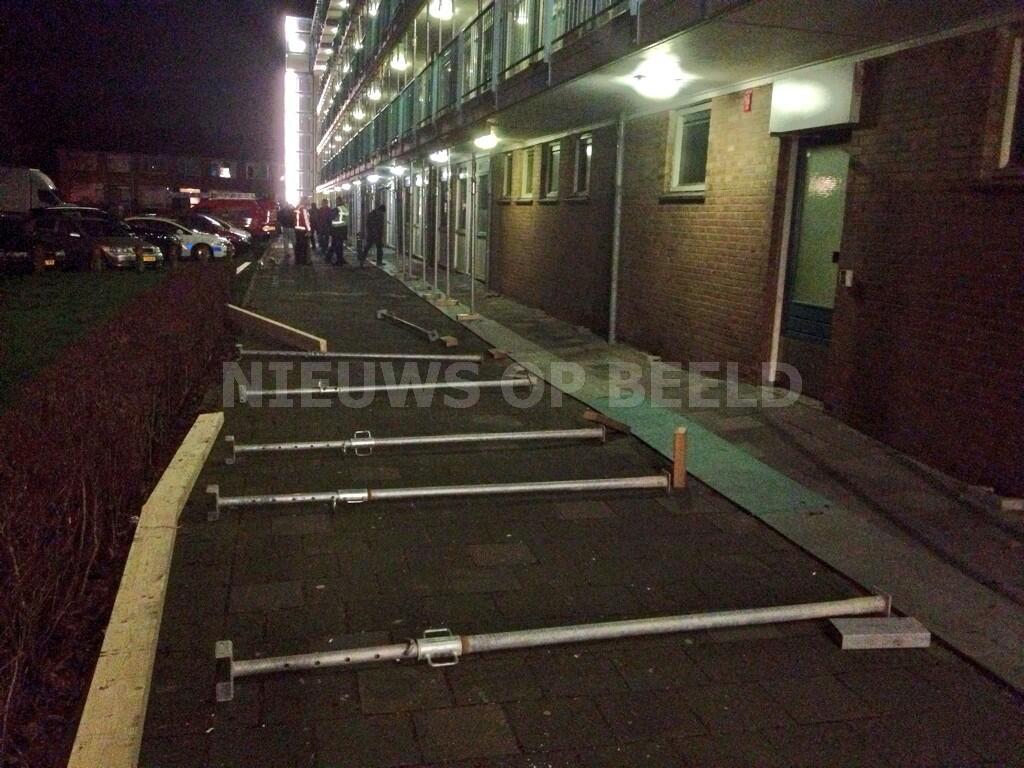 Stempels vallen om van gallerij Karekietstraat Capelle a/d IJssel