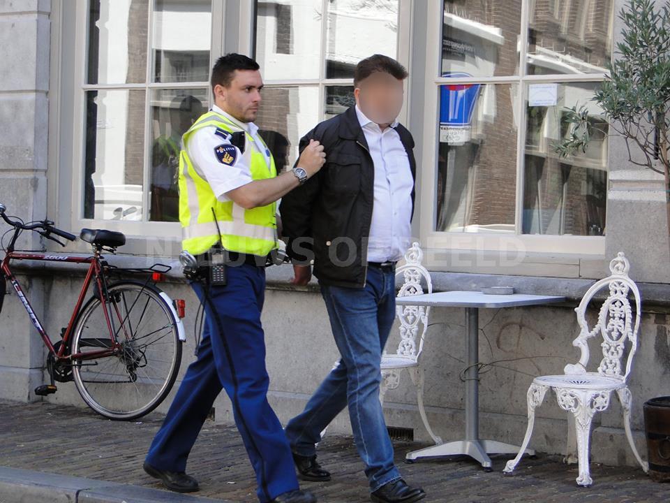 Mannen aangehouden na pinnen met gestolen pinpassen Centrum Dordrecht