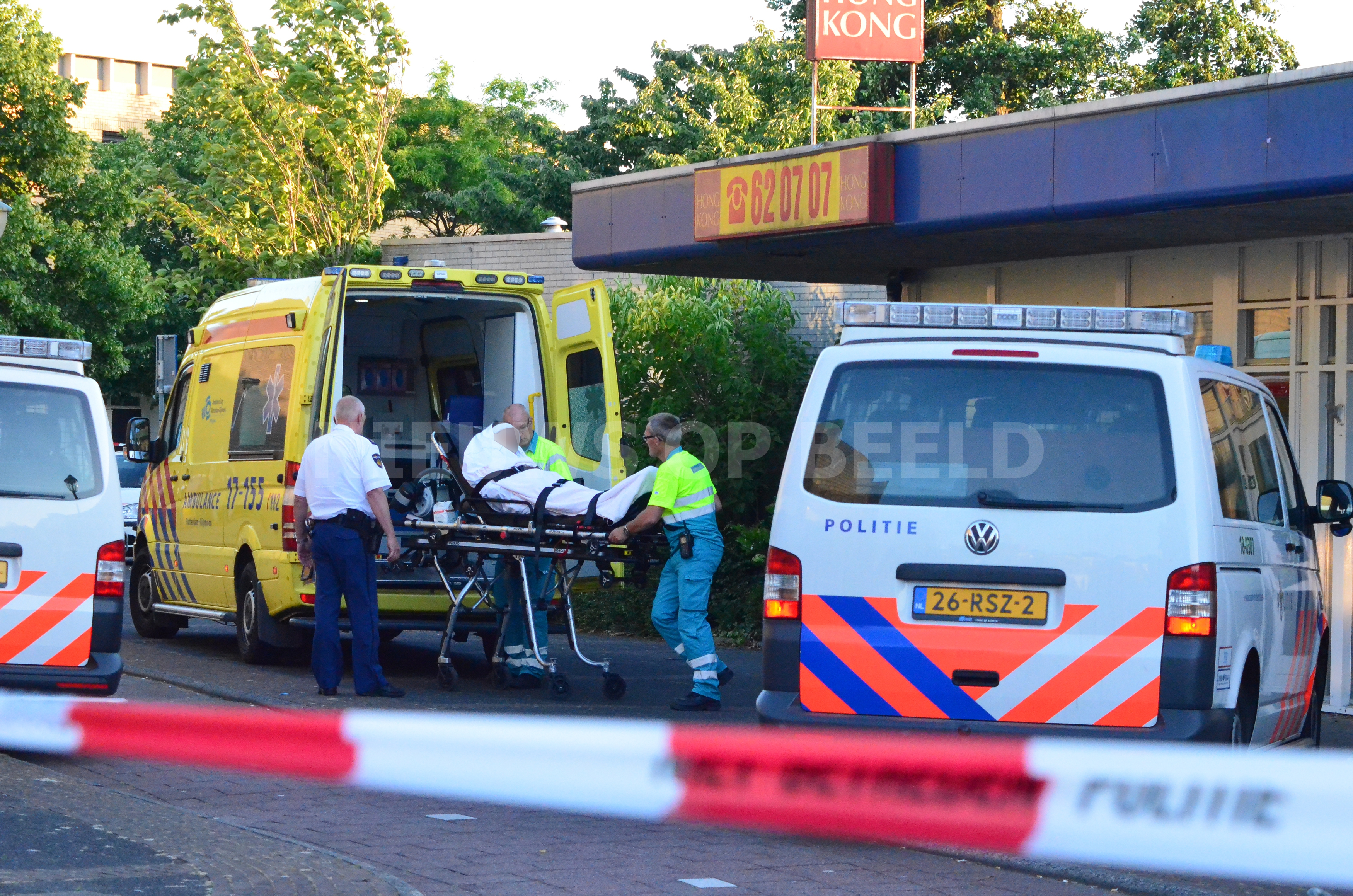 Overval loopt uit de hand, dader en medewerker gewond Molenaar Oud Beijerland