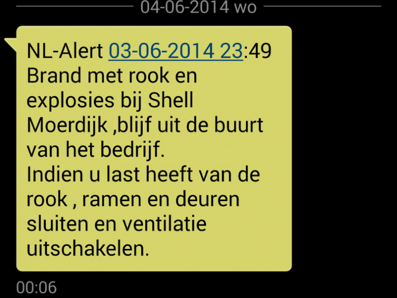 NL-Alert-Moerdijk