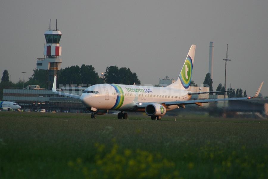 Melding van grote brand Detentiecentrum Rotterdam The Hague Airport