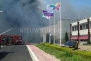Bestrijden brand Campina Friesland gaat nog dagen duren