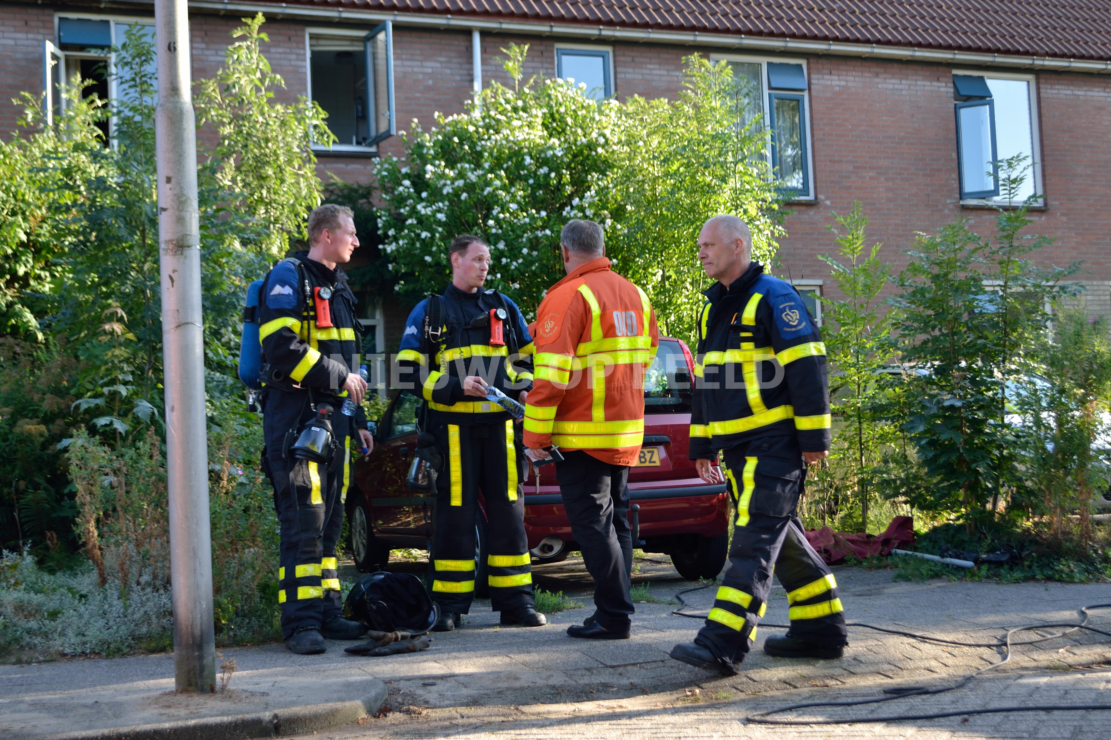 Printer veroorzaakt brand in woning Scholekster Oud-Beijerland