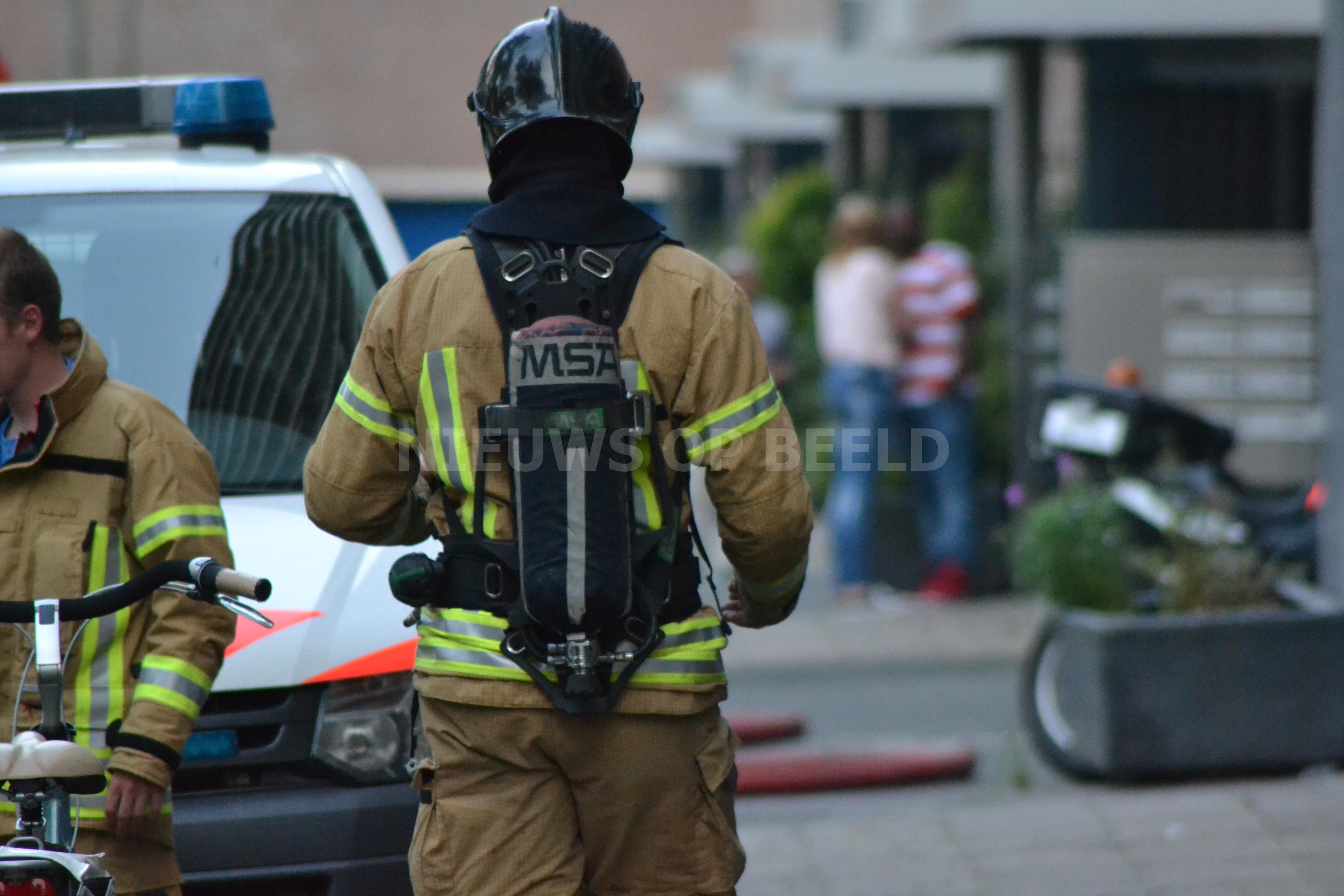 Vier gewonden na brand in woning Obreenstraat Rotterdam