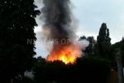 Meerdere tuinhuisjes in brand op volkstuinen ATV Ommoord Koperpad Rotterdam