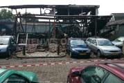 [DAG NA DE BRAND] Zeer grote brand verwoest bedrijfspand Noordenweg Ridderkerk