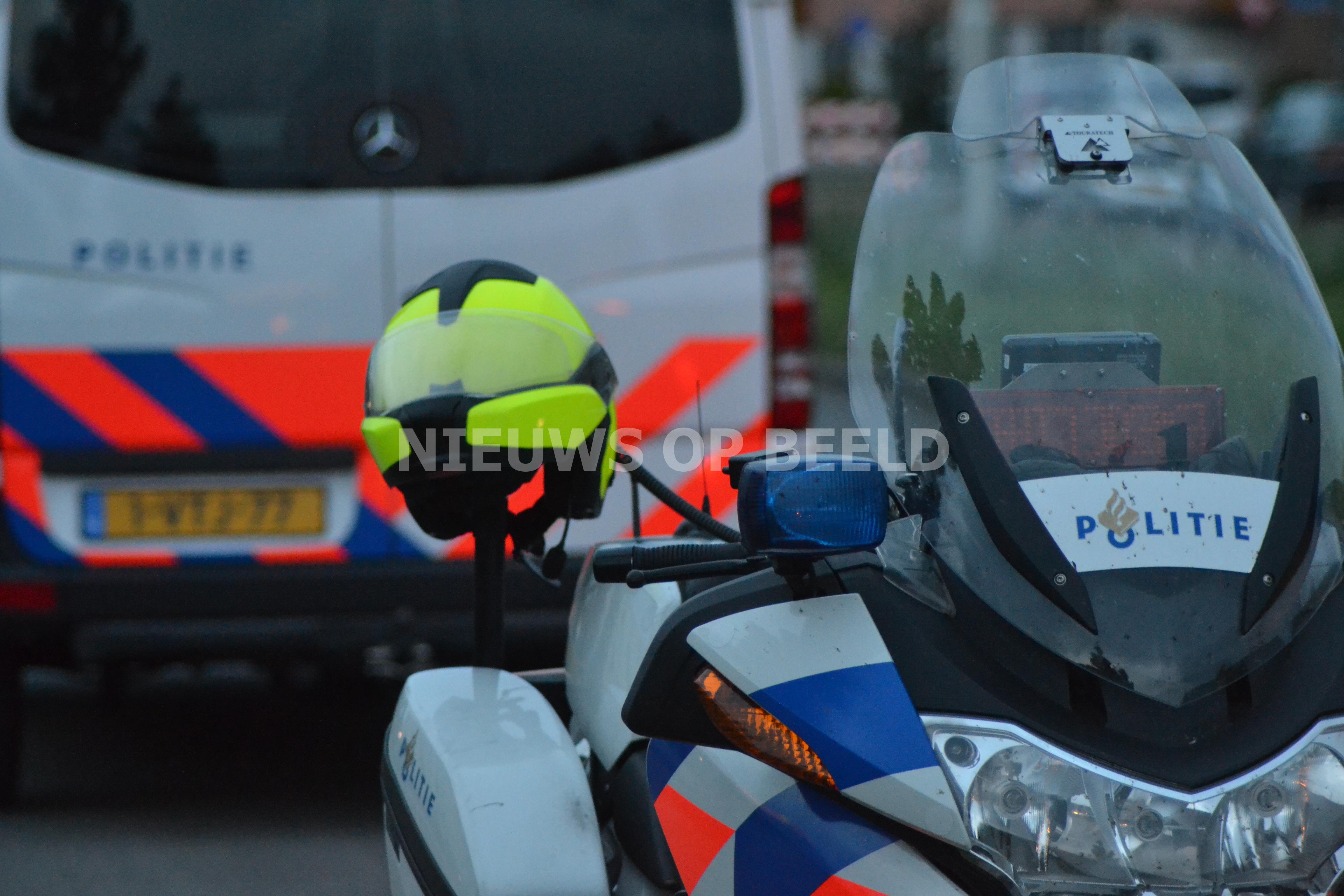 Onder invloed verkerende automobilist rijdt het Total tankstation op de A58 bij Moergestel binnen