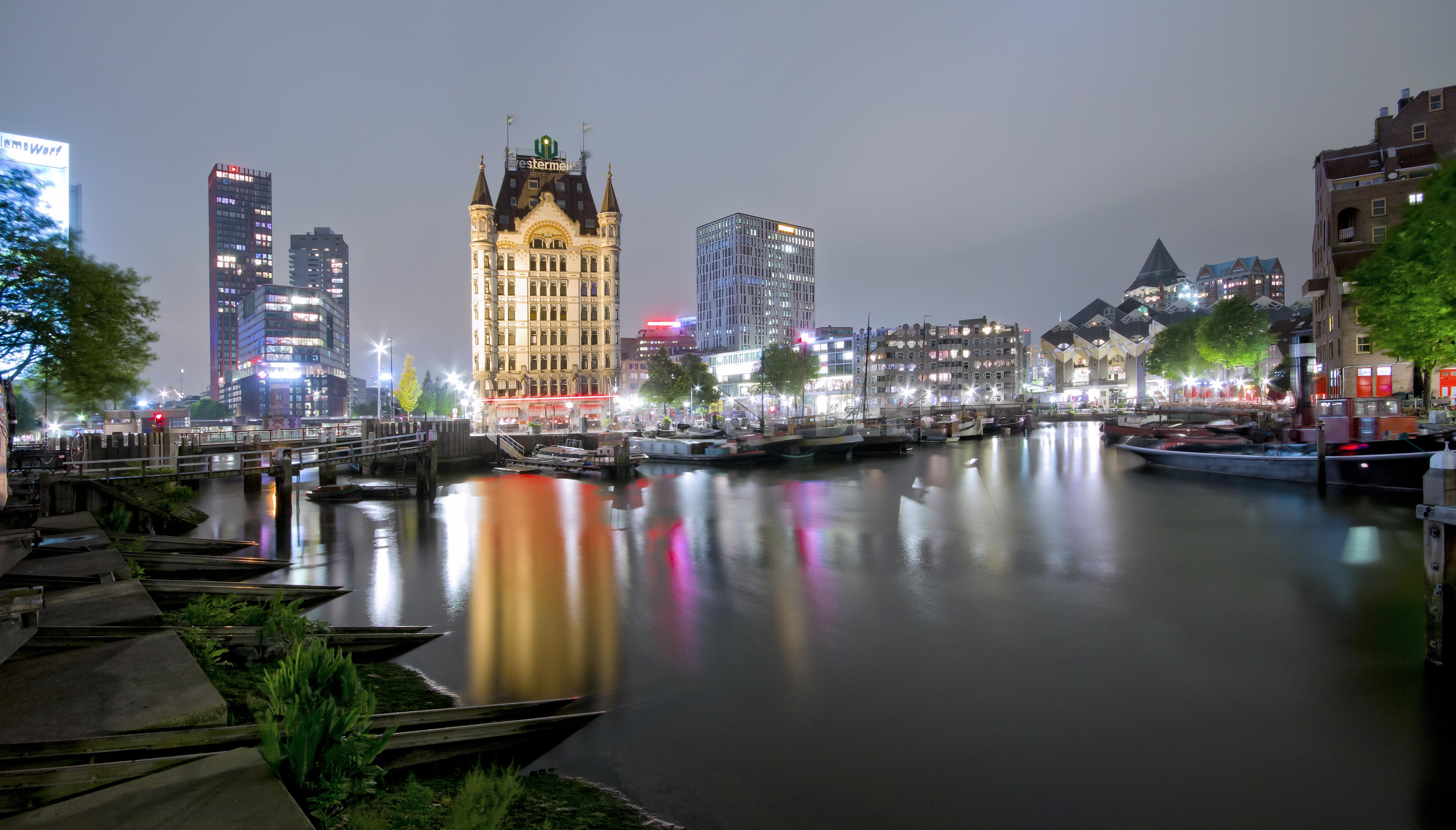 Oude Haven In Rotterdam Nieuws Op Beeld Altijd Het