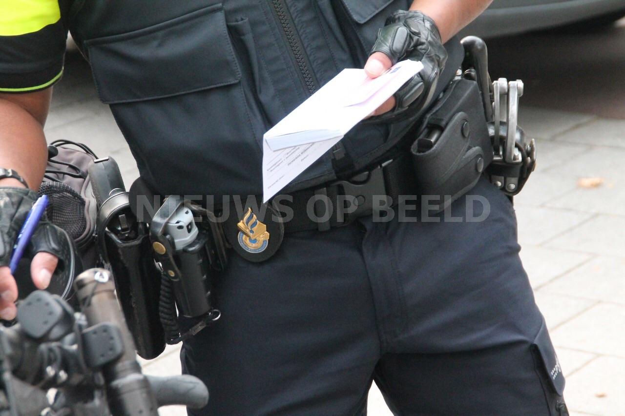 Politie bekeurt bijna dertig fietsers
