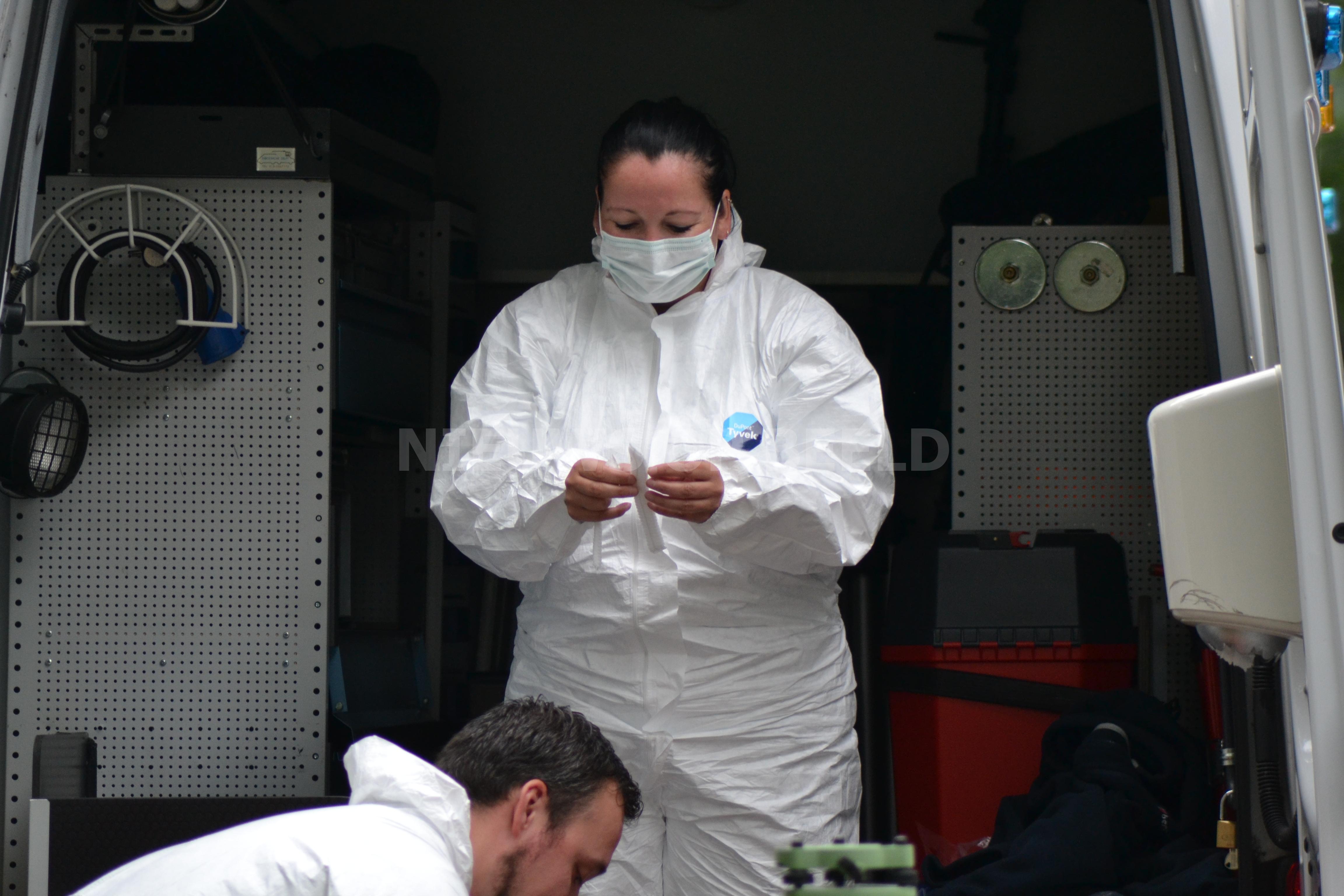 Politie onderzoekt plofkraak op geldautomaat Dokter Reilinghplein Leerdam