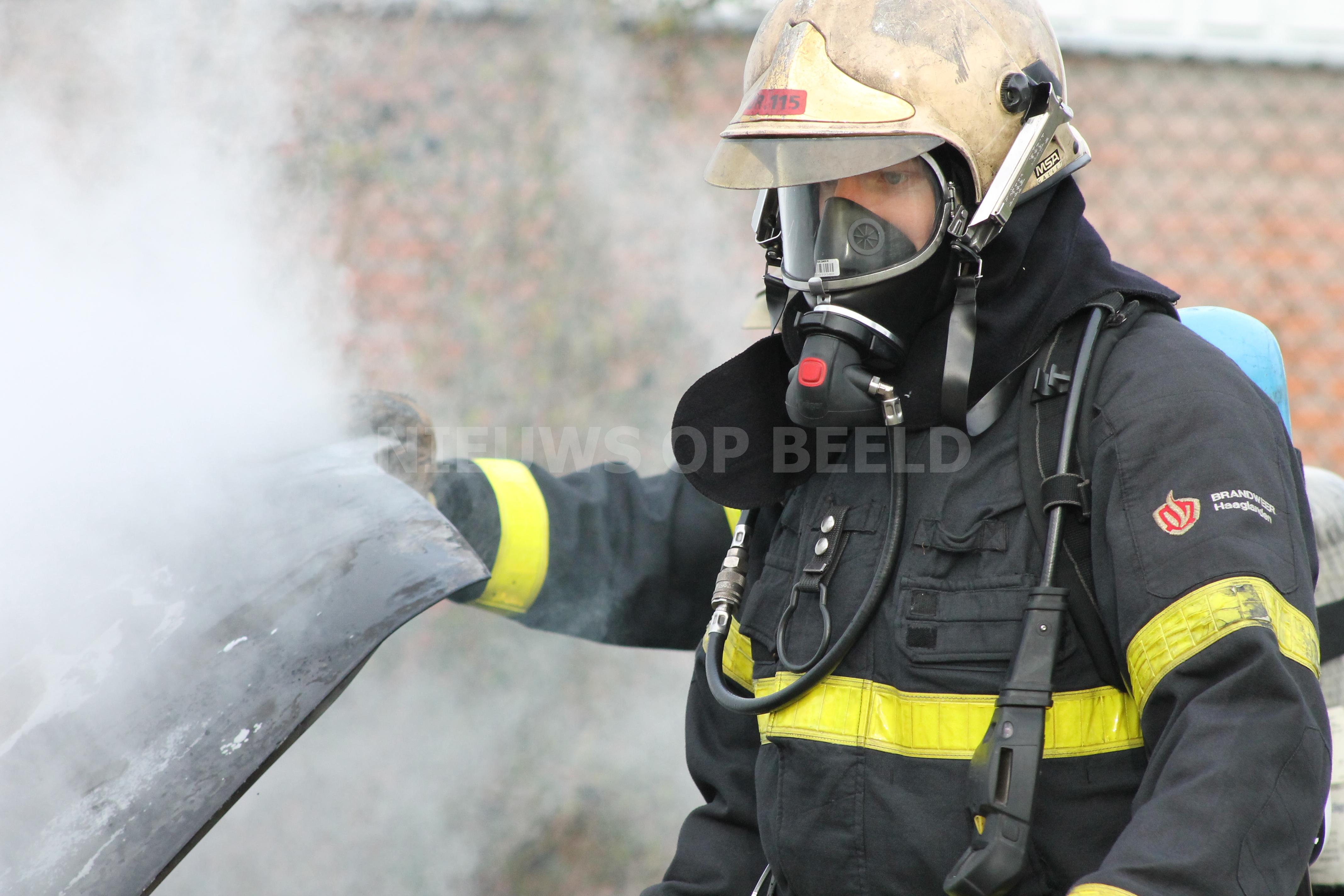 Brand in oud hotel Koningspleisterplaats Provincialeweg Goedereede