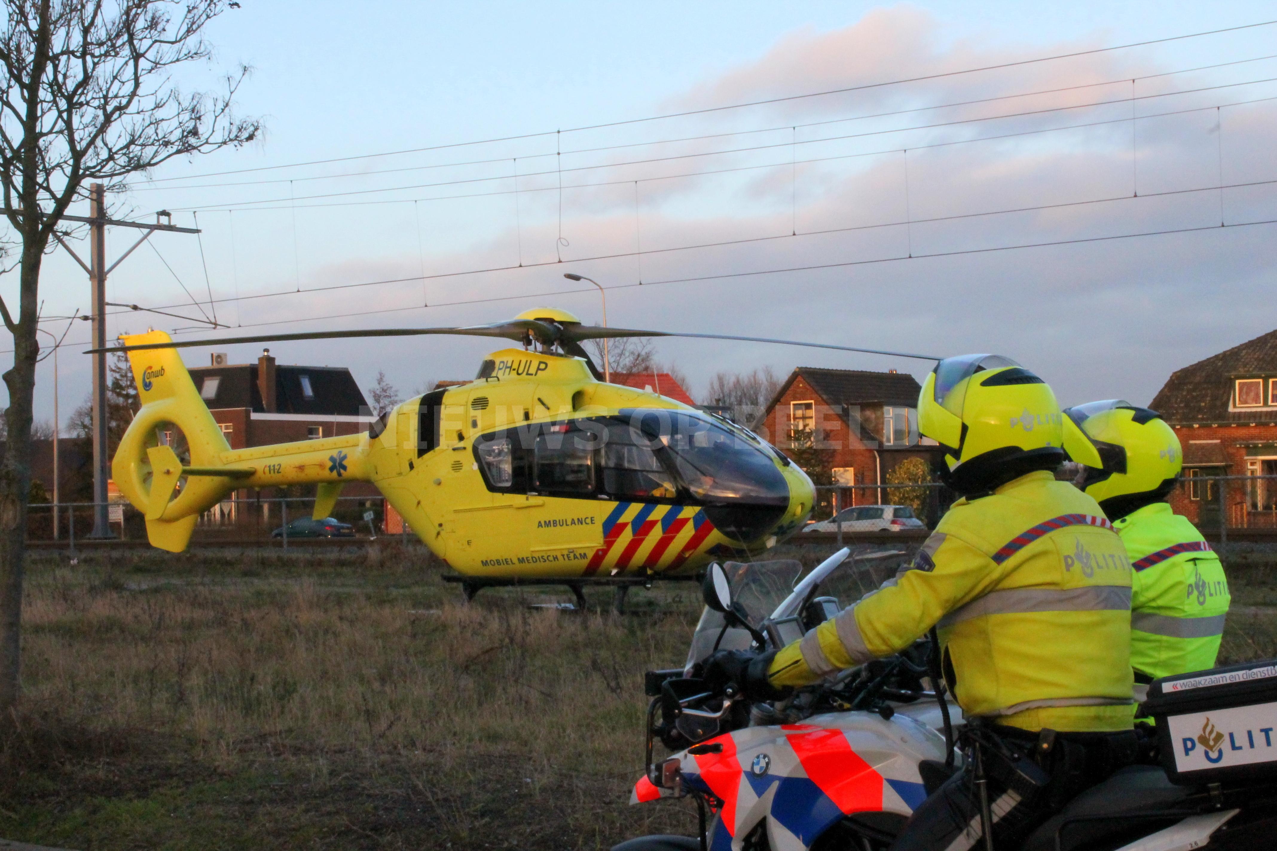 N59 afgesloten tussen Den Bommel en Hellegatsplein door aanrijding met twee zwaar gewonden